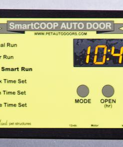 smart coop digital panel pet auto doors