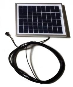 solar panel pet auto doors